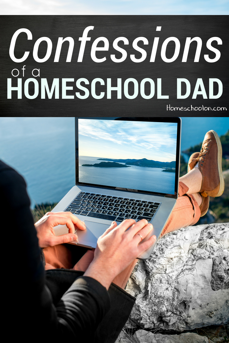 Confessions of a Homeschool Dad
