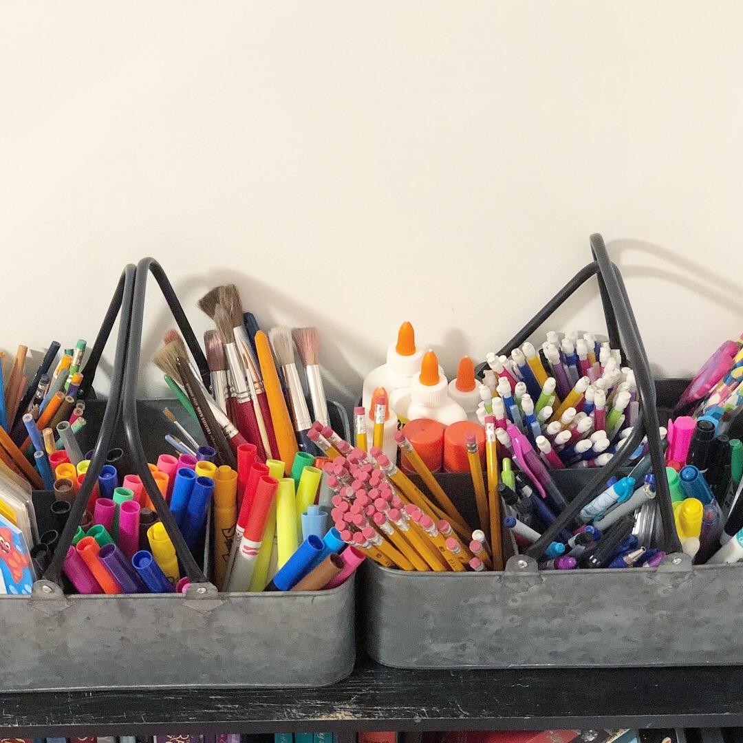 DIY Montessori Trays on a Budget