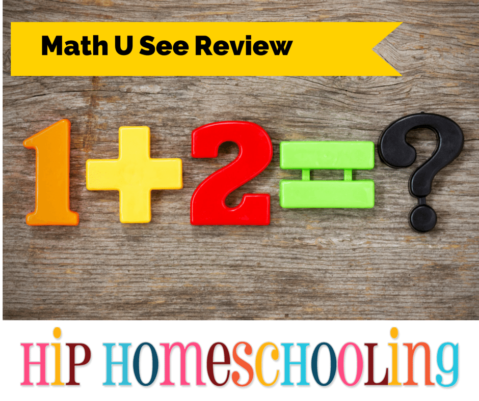 Math Curriculum: Math U See Program Review