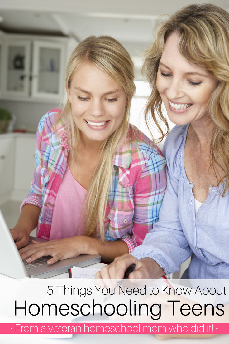 5 Things You Need to Know About Homeschooling Teens | Homeschooling | Homeschooling teenagers | Homeschooling high school | homeschooling middle school | homeschool high school | homeschool middle school | middle school curriculum | high school curriculum