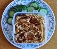 Easy Healthy Snack Recipe-Veggies and Hummus