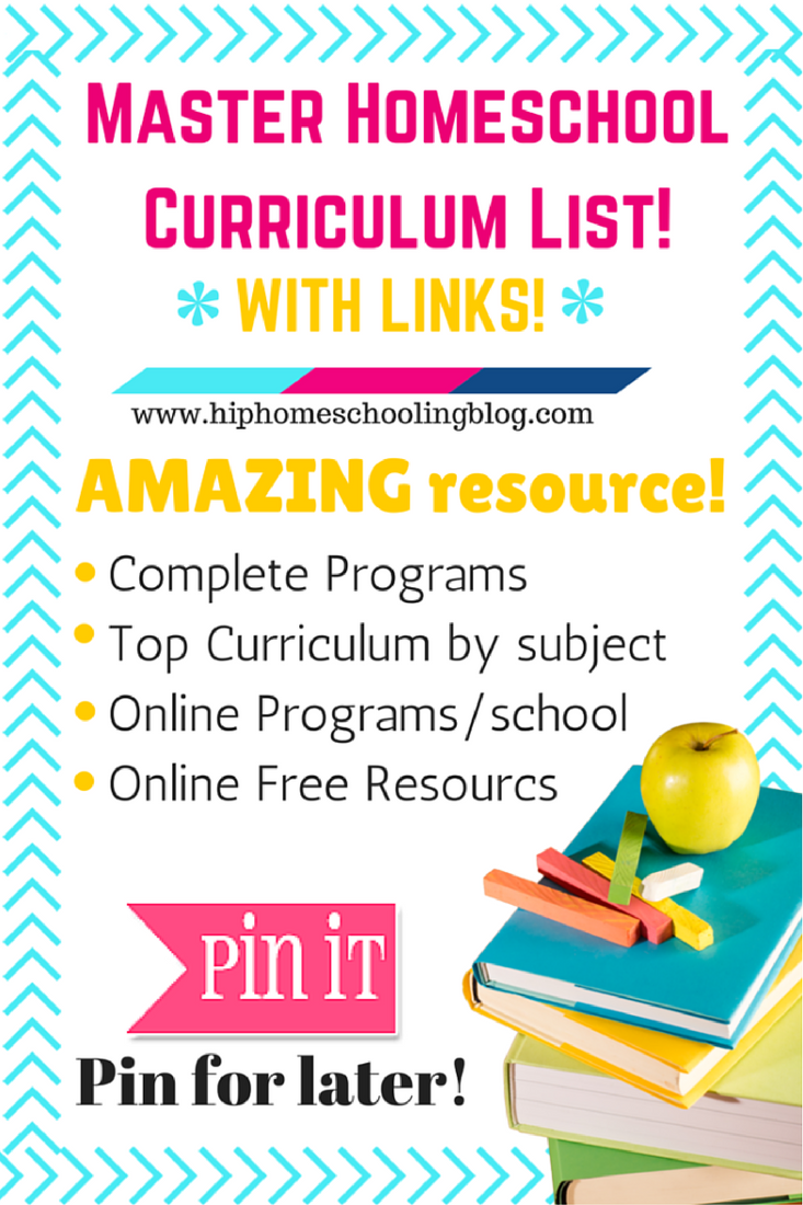 the master homeschool curriculum list with links! free curriculum | bible curriculum | socials studies curriculum | science curriculum | elementary curriculum | homeschool curriculum | biible curriculum | online curriculum | all in one curriculum | kindergarten curriculum | grade 1 curriculum | preschool curriculum | math curriculum | curriculum list | homeschool curriculum list | homeschool math | homeschool science | homeschool preschool | homeschool science | homeschool socials | homeschool geography | homeschool bible | homeschool math | homeschool language arts | homeschool reading