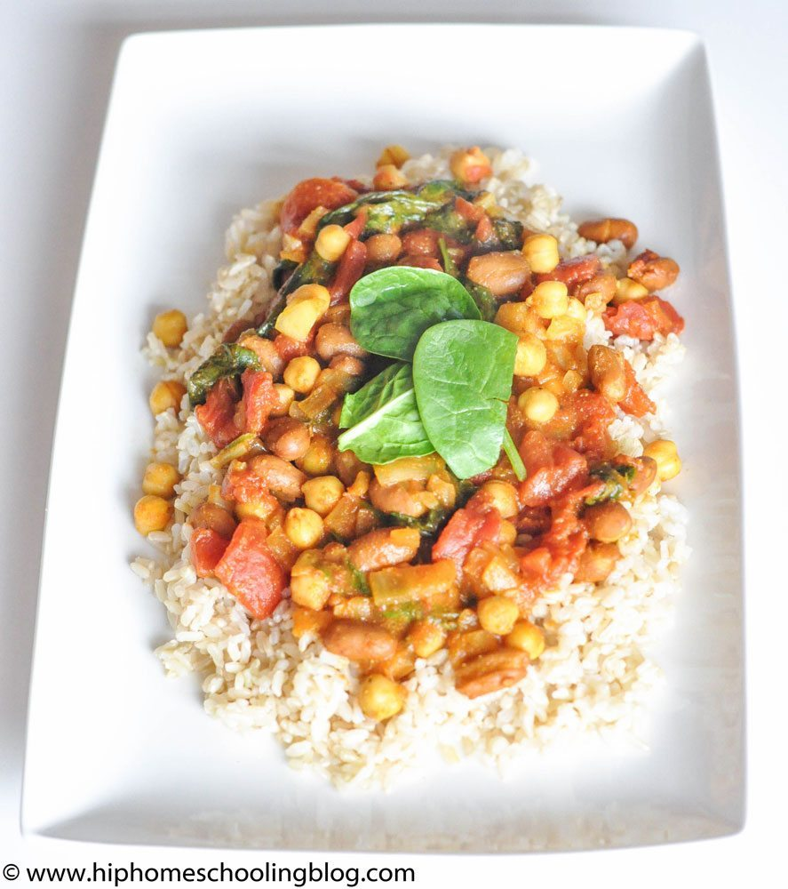 Easy Recipes: Chana Masala in 20 Minutes!