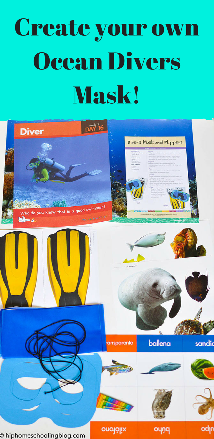 Create your own Ocean Divers Mask!