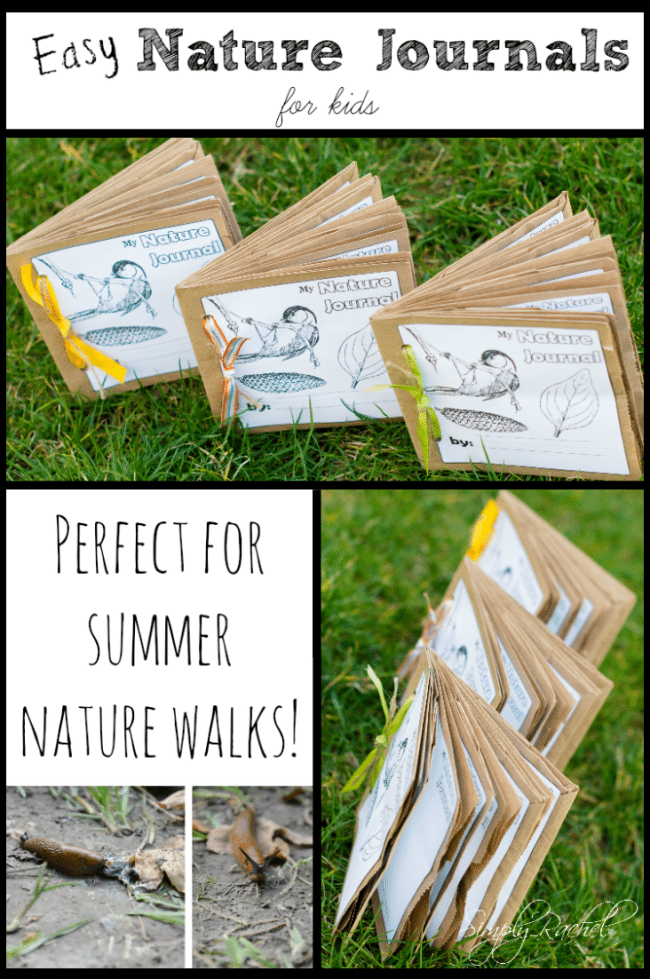 Nature Journal for Kids by Simply Rachel