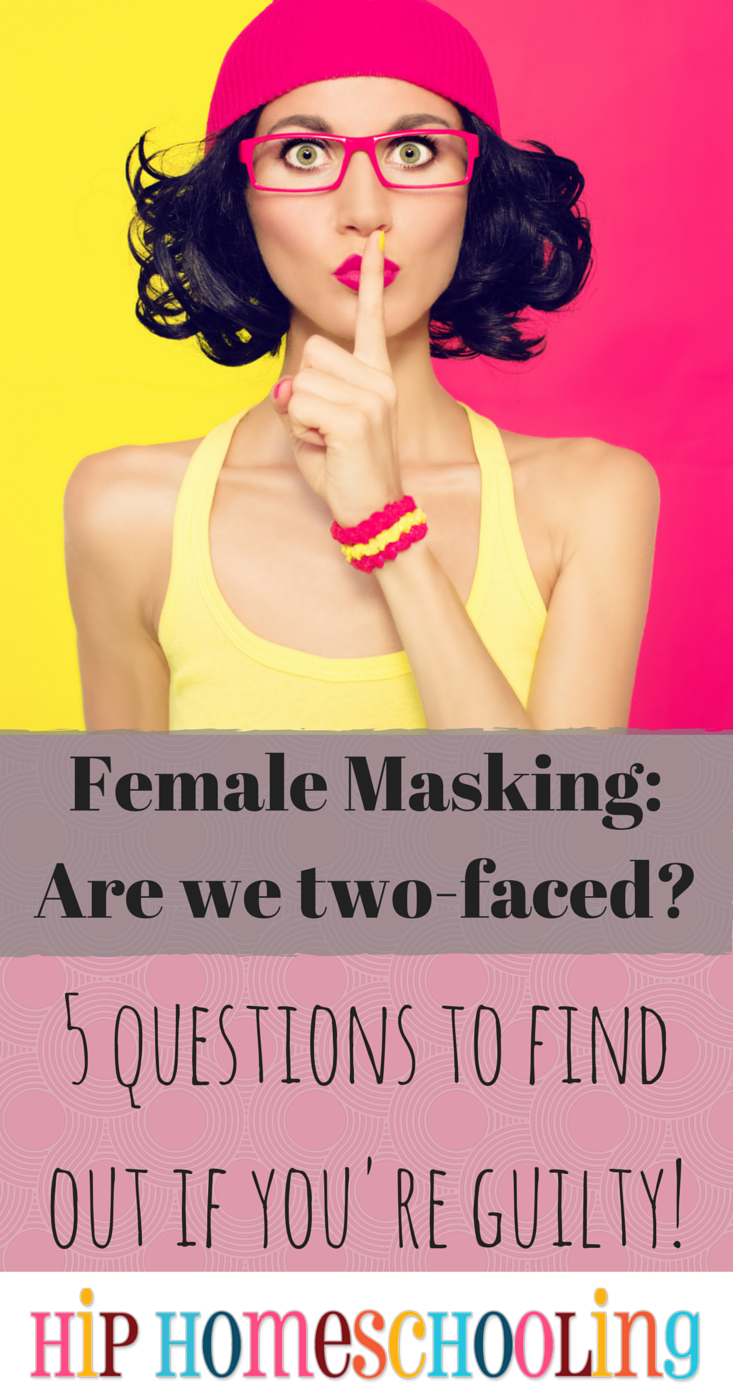 Masking: the Female Inclination to Say one Thing and Think Another