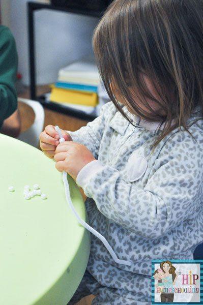 Homeschool Ocean Unit Study   Making Oysters