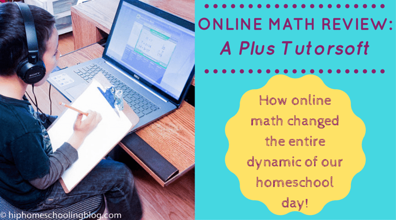 Online Math review of A+ Interactive Math Curriculum