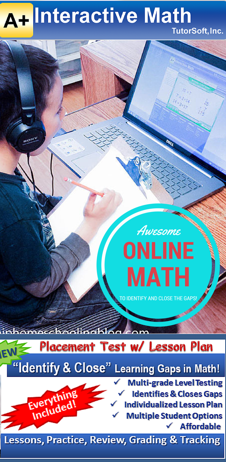 Online Math: A review of what we use for online math!