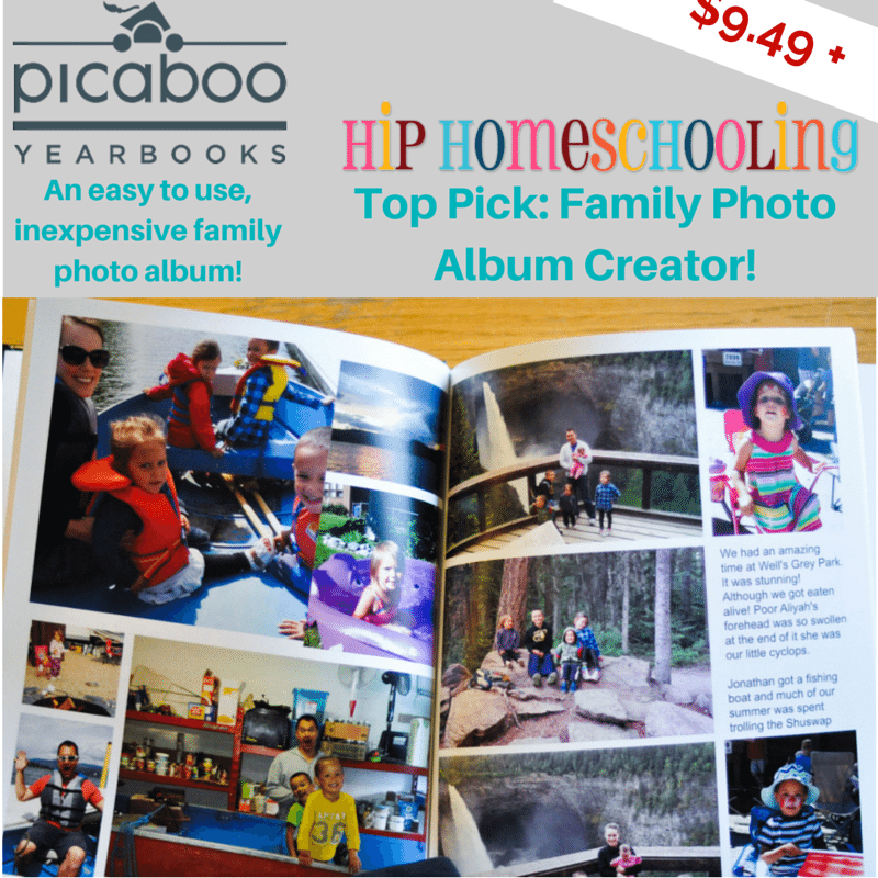 Picaboo Yearbooks Review