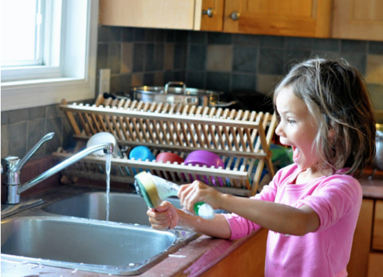 How to Get Your Kids to Do Their Chores Cheerfully!