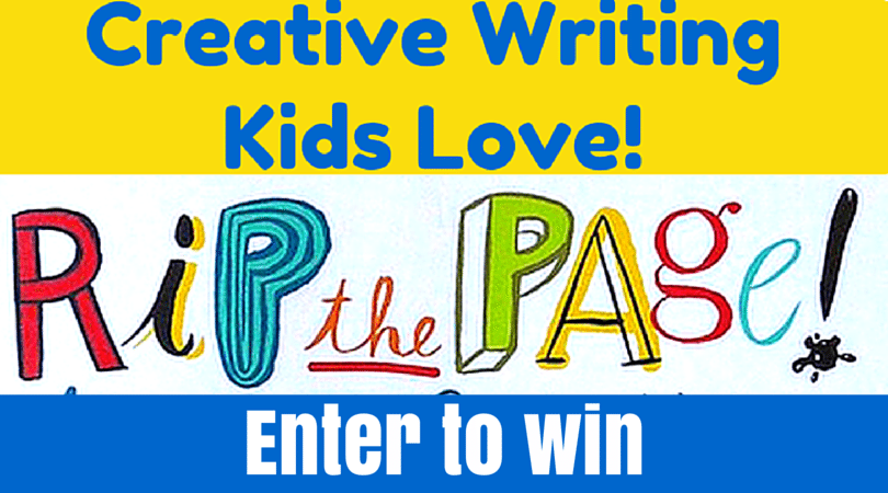 Creative Writing Prompts for Kids and Giveaway!