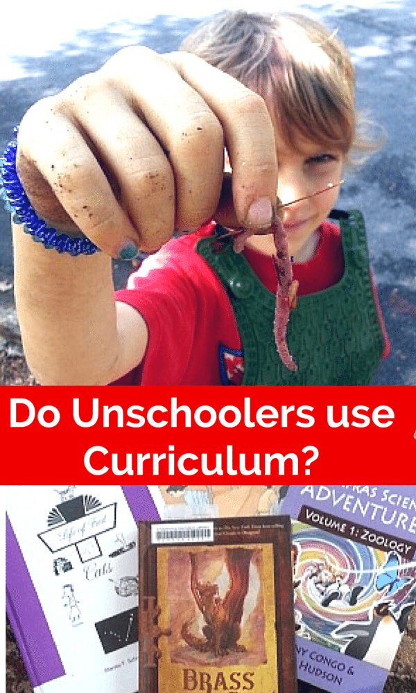 Do Unschoolers use Curriculum? Come find out!