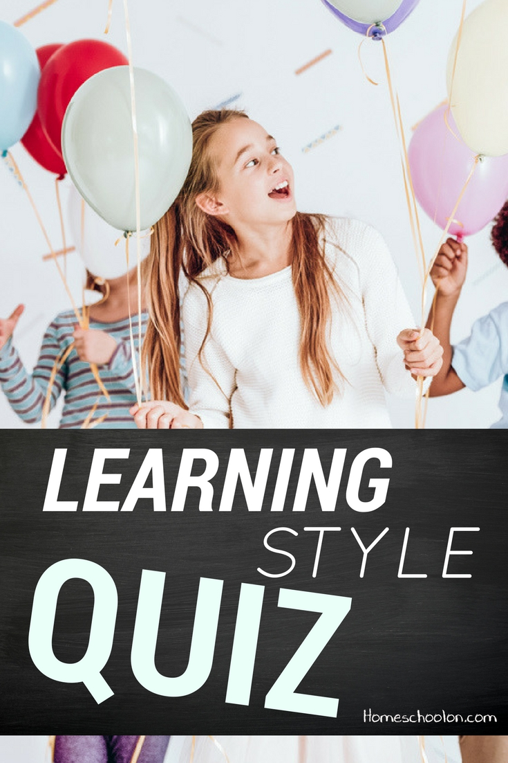 The Learning Style Quiz