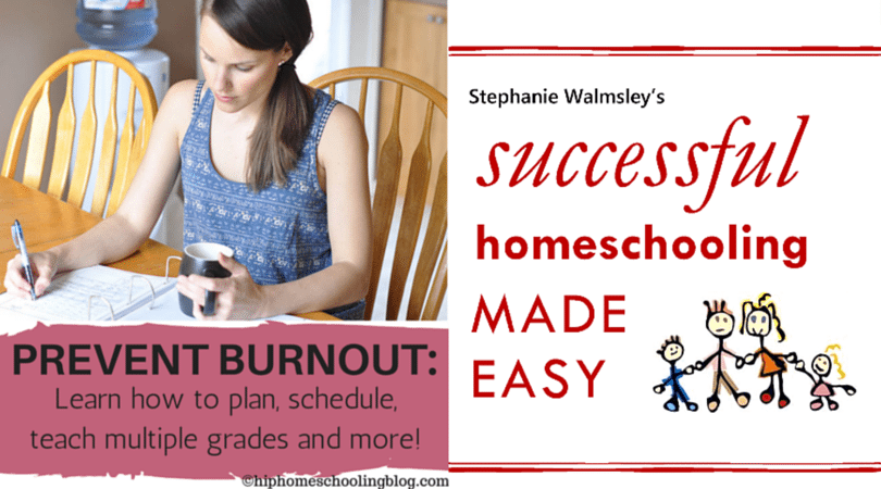 Create a homeschool schedule that works, avoid burnout and more!