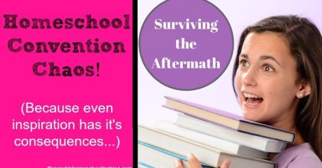 Homeschool Convention Chaos: What it REALLY looks like…