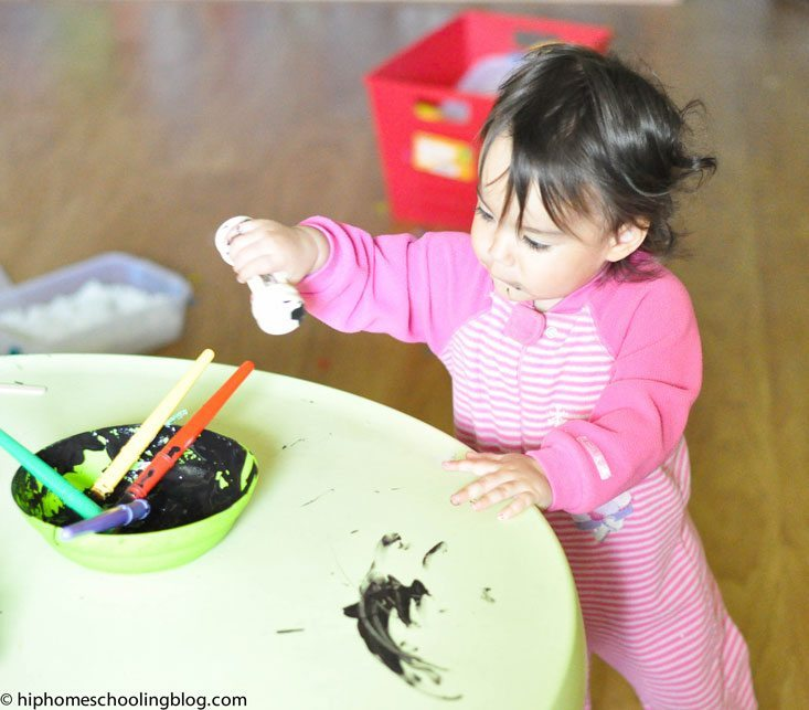 Garden to Groceries: Where Does our Food come from and how we homeschool with a toddler!