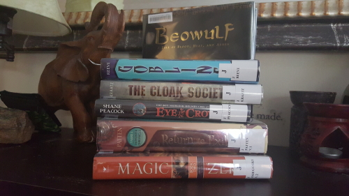 unschooling: library books