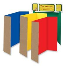 tri fold poster boards for visual learners