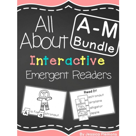 All About A-M Interactive Bundle for Visual Learners