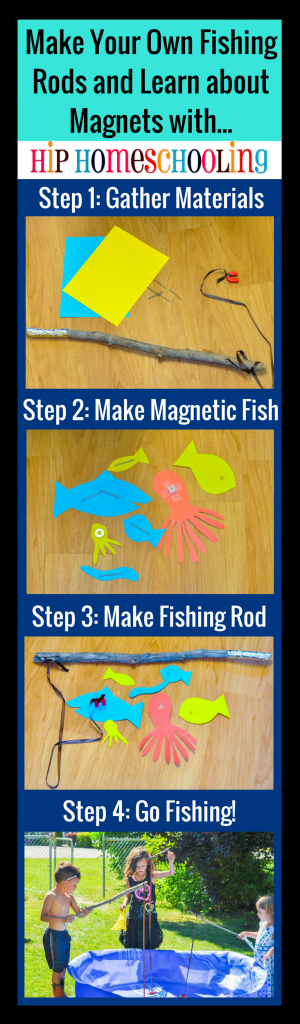 Make Your Own Fishing Rods and Learn