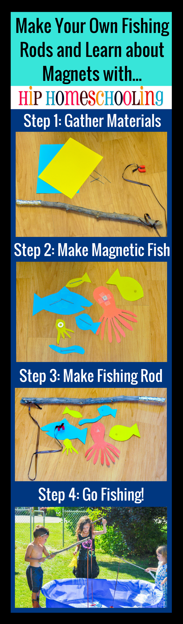 Make A Fun Fishing Game And Learn About Magnets