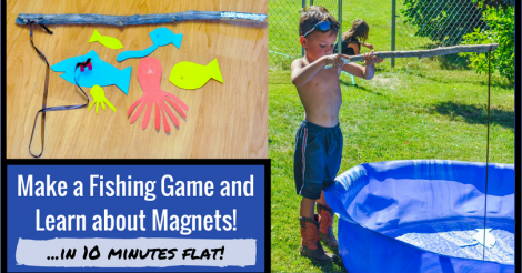 Make a Fishing Game and Learn About Magnets