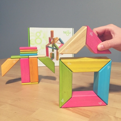 Tegu blocks resources for visual learners