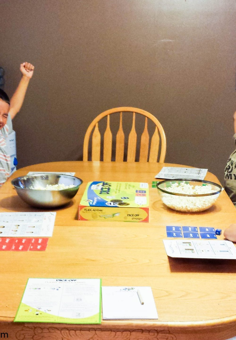 Dice Off® Spanish Game for Kids! So Fun they Won't Know they're Learning!