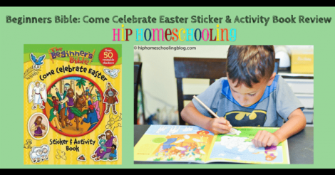 The Beginner's Bible Come Celebrate Easter Sticker and Activity Book By Kelly Pulley ~ Review