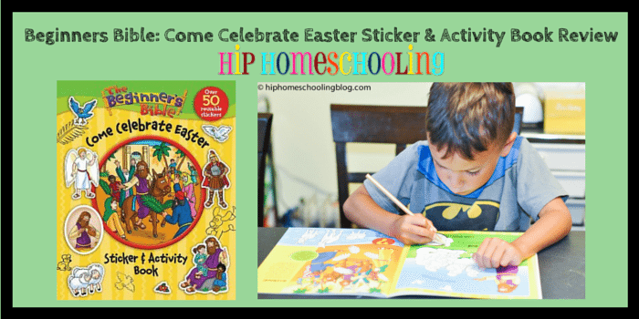 Beginner's Bible Come Celebrate Easter Sticker and Activity Book Review