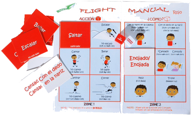 Dice Off® Spanish Game Cards