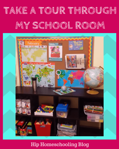 Take a virtual tour through my school room and get some ideas on how to set up yours!