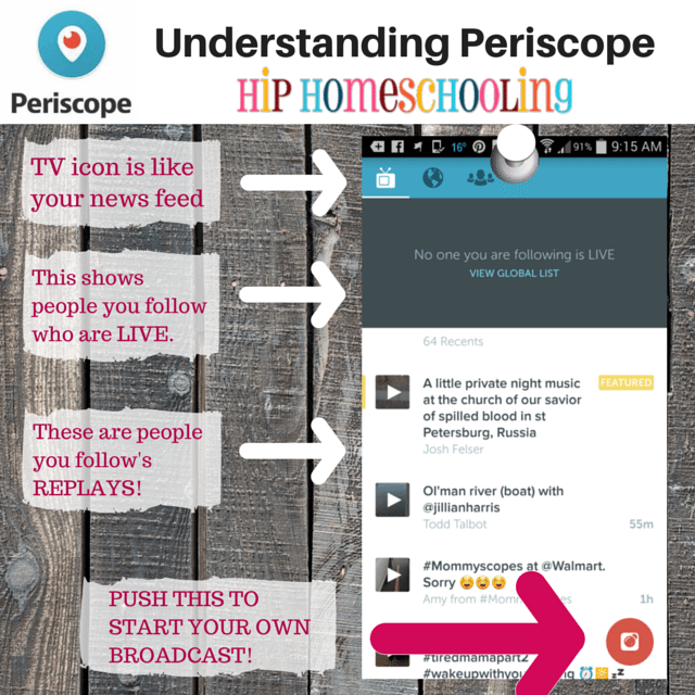 Understanding Periscope: the news feed