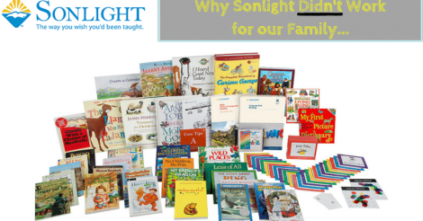 5 Reasons Sonlight Curriculum didn't Work for us