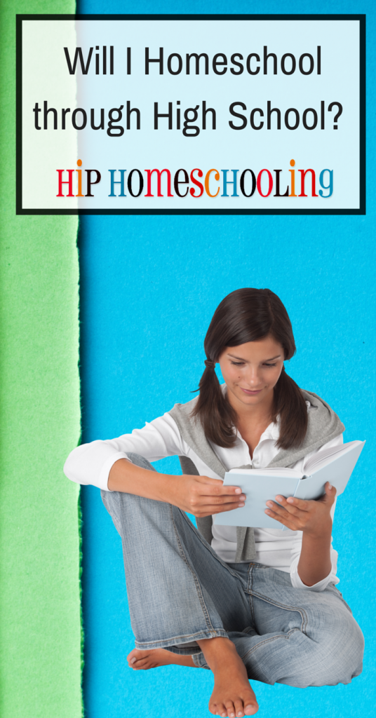 Will I be homeschooling high school?  Come read the advantages and disadvantages to homeschooling through high school!