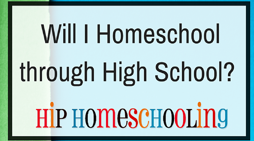 Will I be Homeschooling High School? What are the pros and cons?