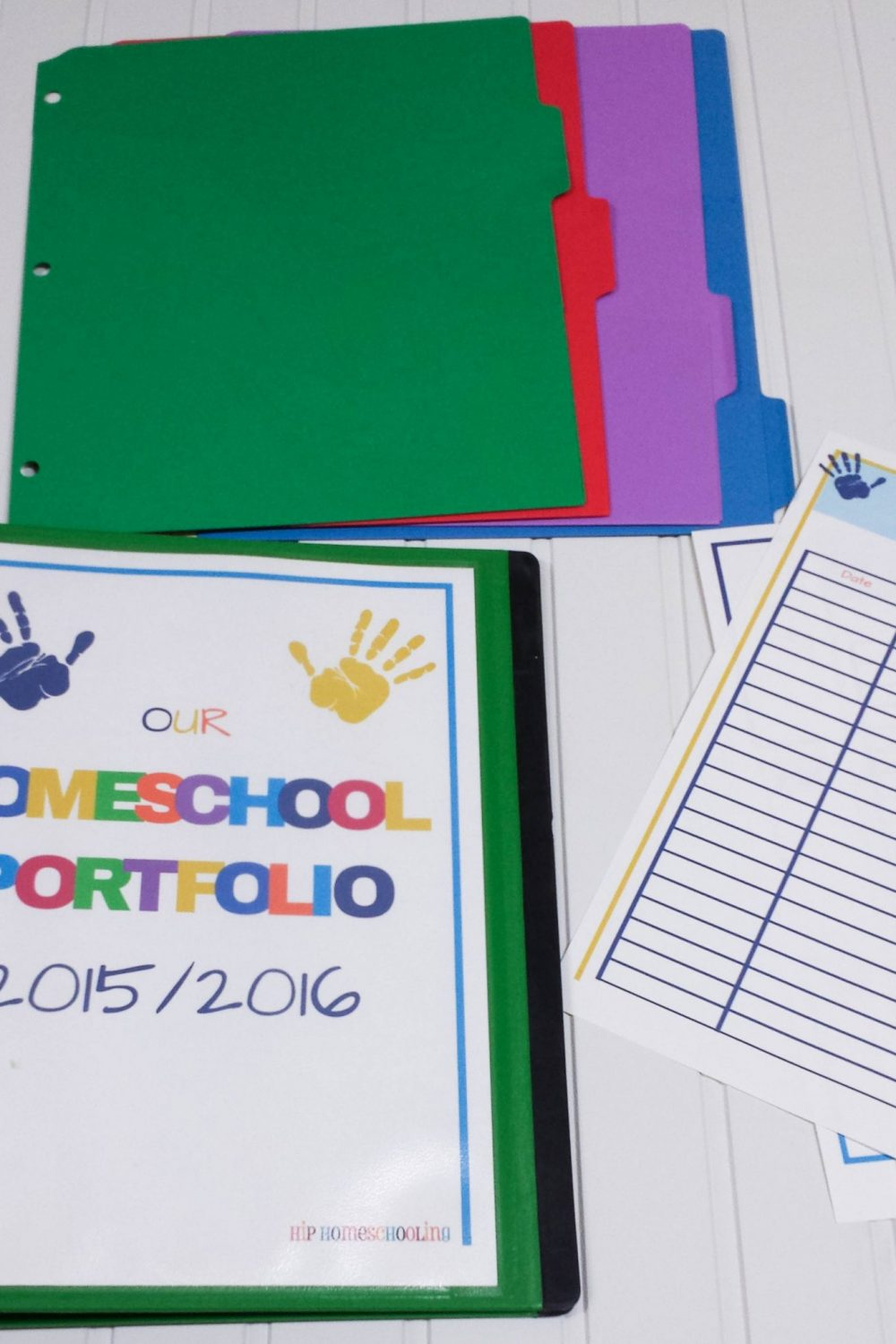 ALL NEW! 2018/2019 Homeschool Portfolio