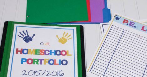 ALL NEW! 2017/2018 Homeschool Portfolio