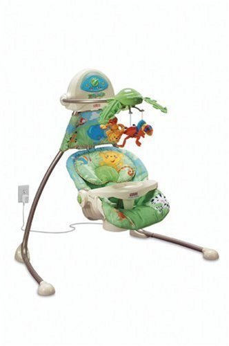 Homeschool with a baby: Rainforest Swing