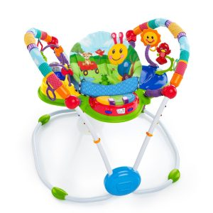 Homeschool with a baby: Jumperoo