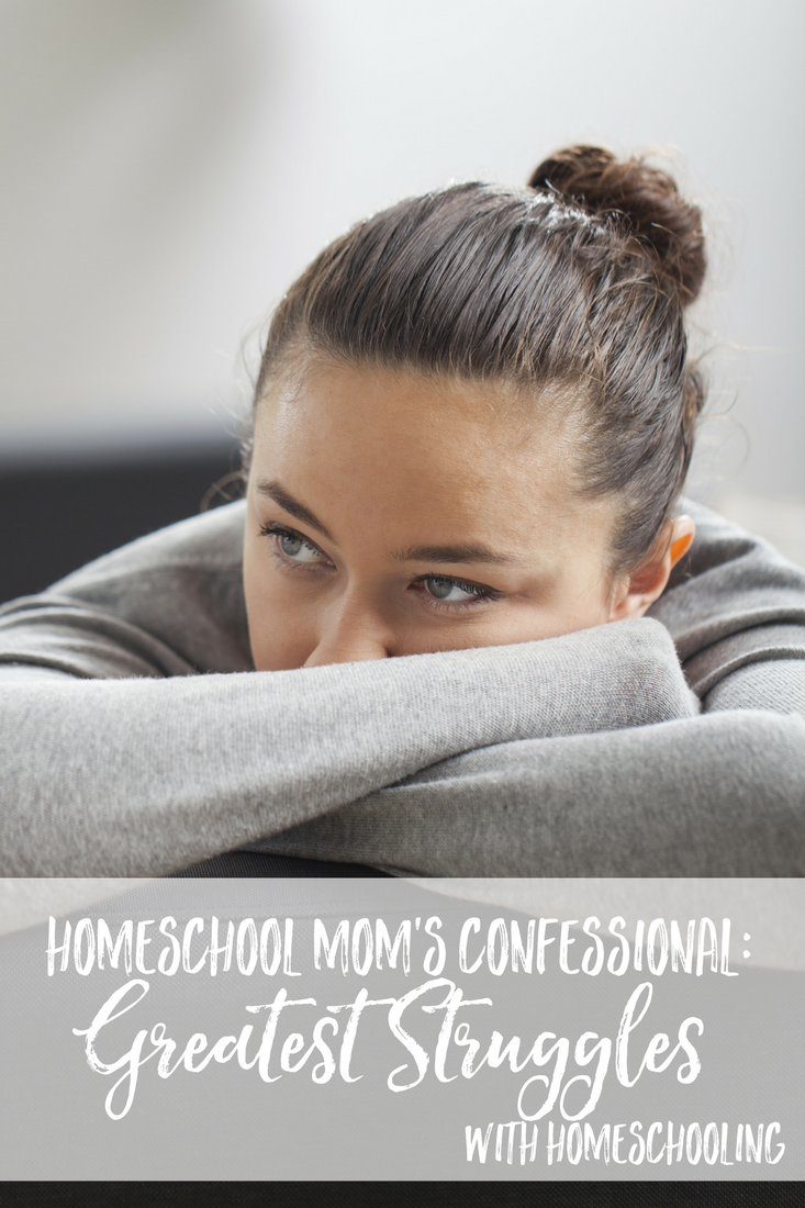 Homeschool Mom's Speak out about their greatest struggles with homeschooling! Homeschool encouragement | homeschool ideas | homeschool tips | homeschool struggles | Homeschool problems | homeschool bloggers