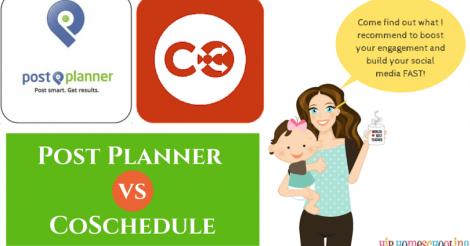 Postplanner vs. Coschedule (plus Favorite things Friday #23)