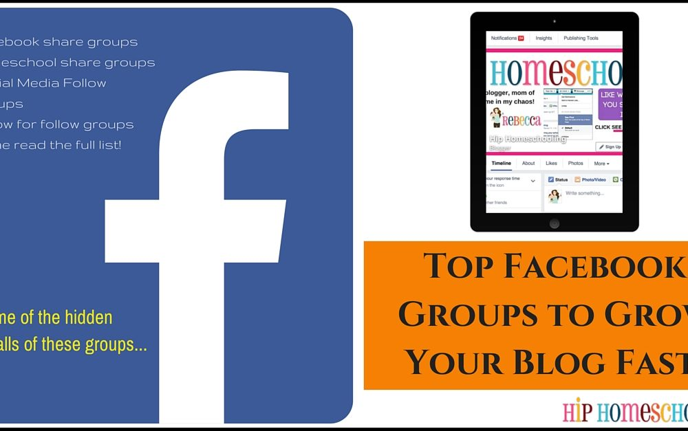 Top Facebook Groups to Grow Your Blog