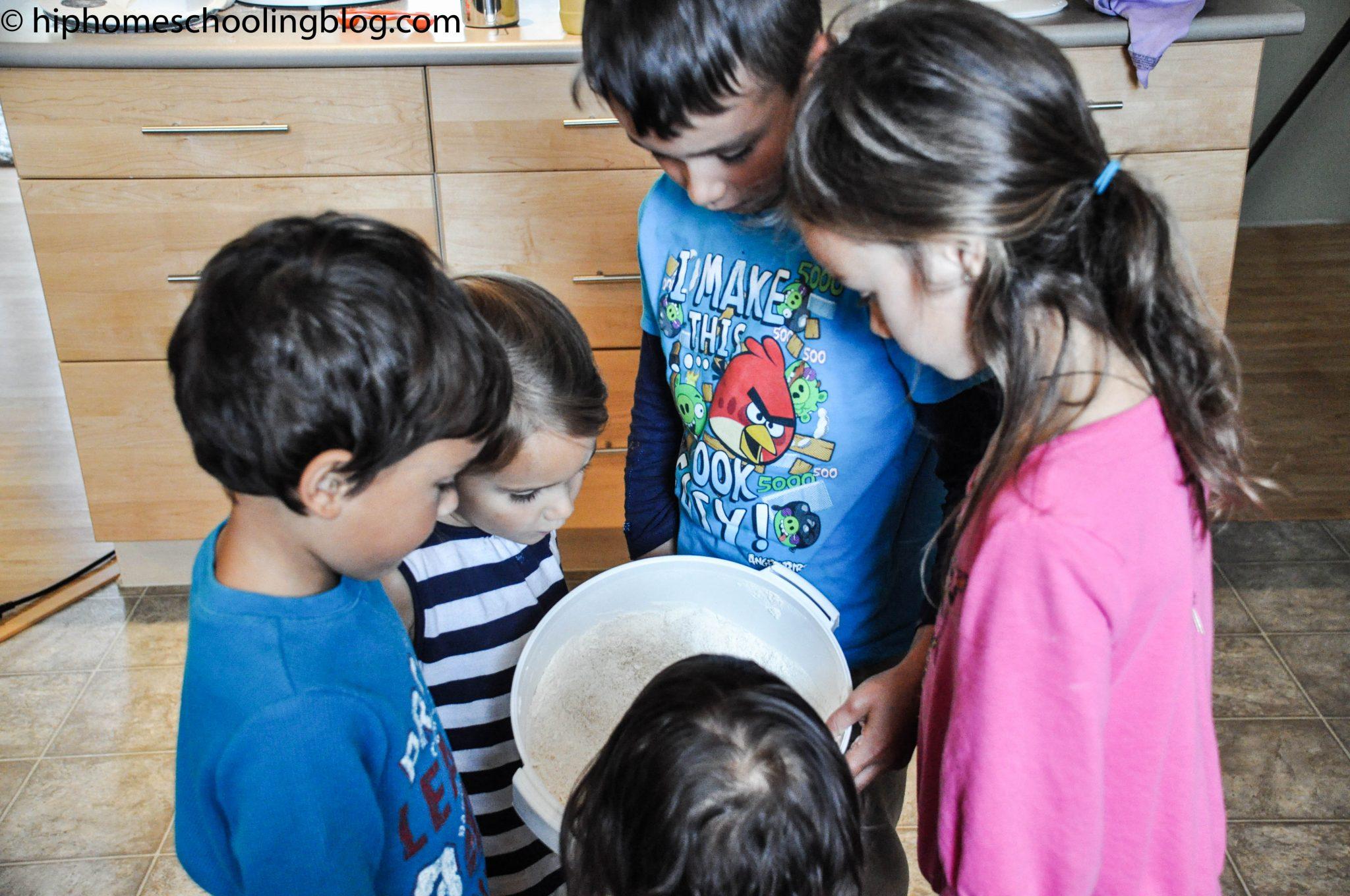 fresh milled flour playdough recipe