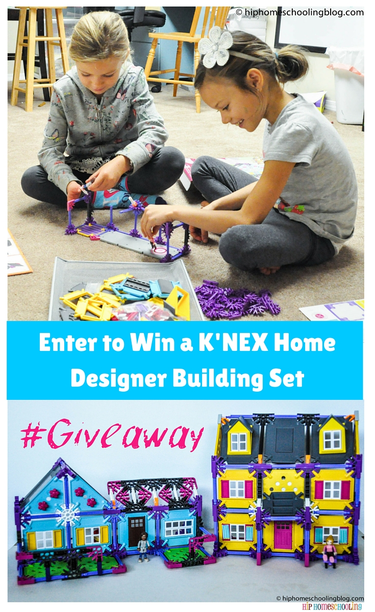 Enter to Win a K'NEX Home Designer Building Set from @Knexbrands @HHomeschooling Read the full review on this amazing set! Giveaway open to US and Canada and closes 11/05/2015 at 12pm PST Good luck! #entertowin