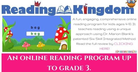 Reading Kingdom Review: An Online Reading Program for Kids