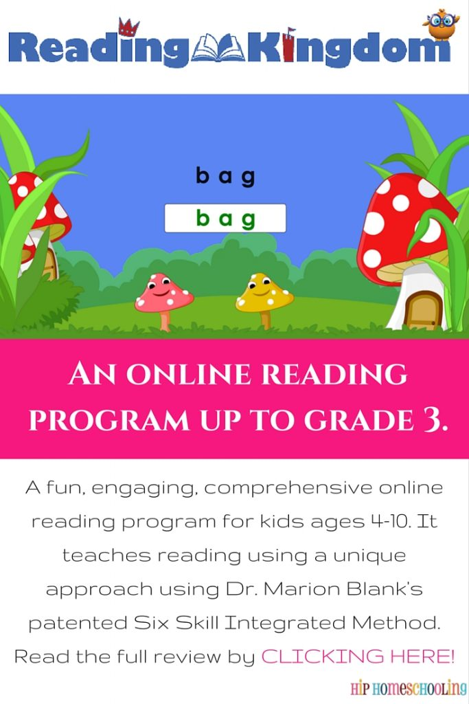 Reading Kingdom Review: Online reading program ages 4-10
