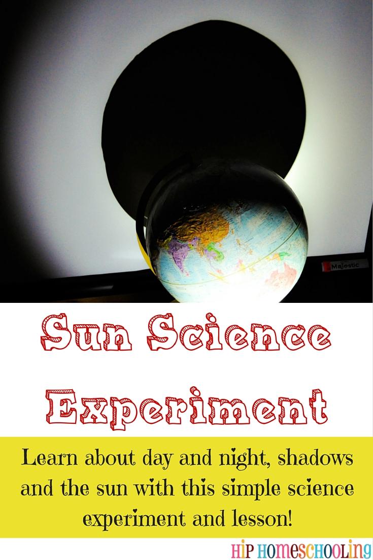Sun Science Experiments