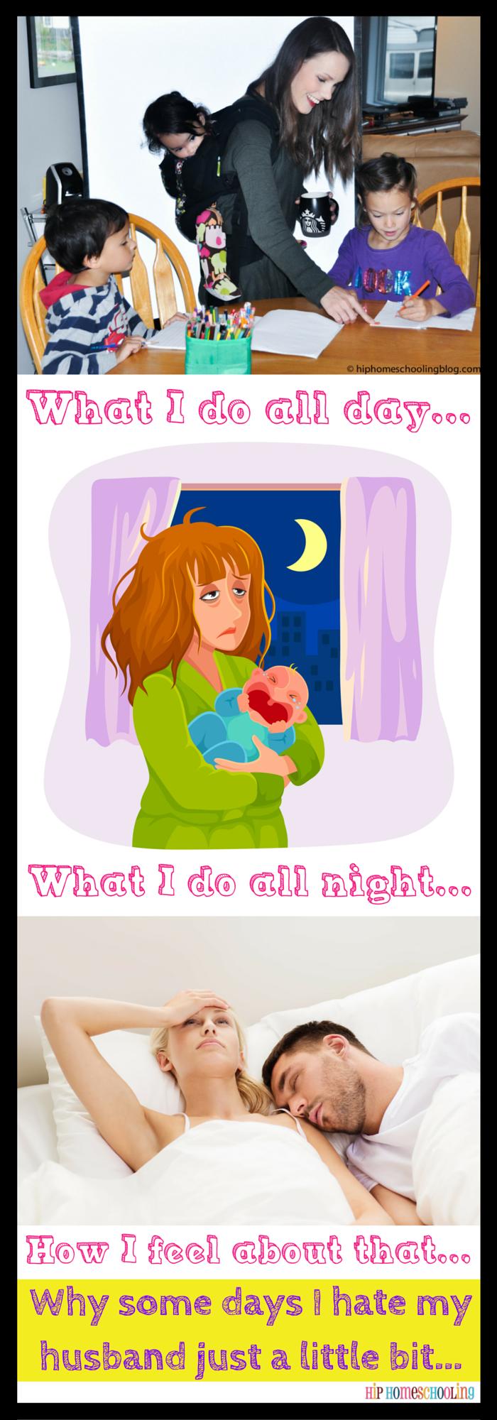 Husband Envy: Why some days I hate my husband a little bit.